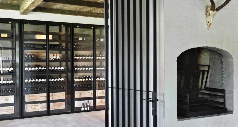 armoire vin m tallique sliding bruges 2013. Black Bedroom Furniture Sets. Home Design Ideas