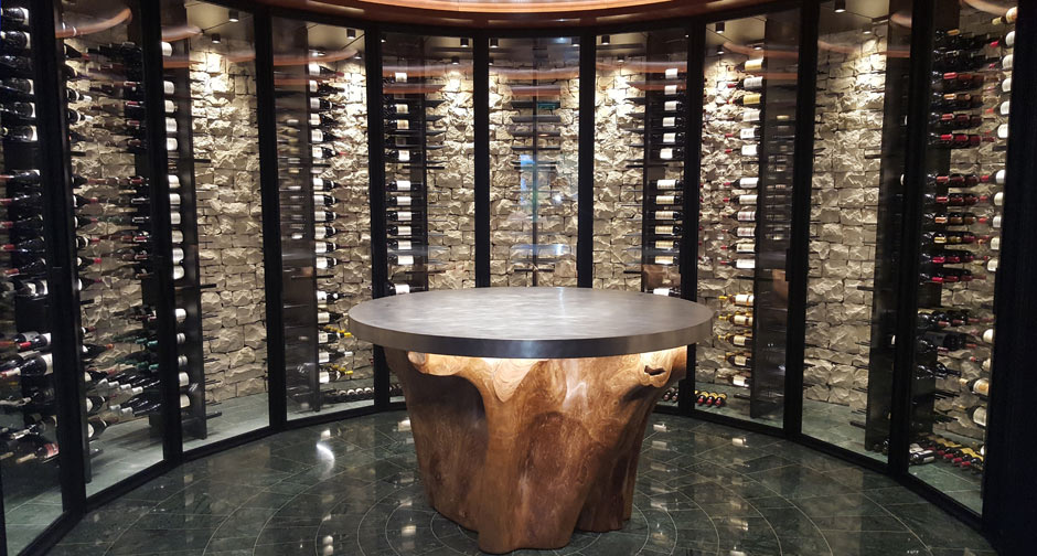 "Custom ""GRAVITY"" Wine CabinetMonaco 2017 | Degré 12"