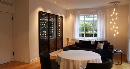armoires vin sur mesure degr 12. Black Bedroom Furniture Sets. Home Design Ideas