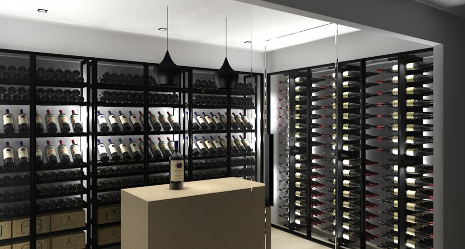3D Project U2013 Sliding U0026 Gravity Wine Cabinet Tervuren