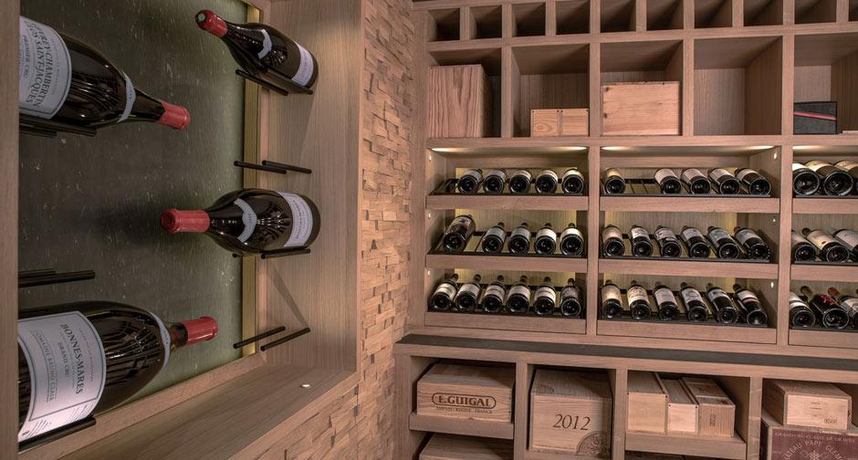 cave vin sur mesure en ch ne clairluxembourg 2015 degr 12. Black Bedroom Furniture Sets. Home Design Ideas