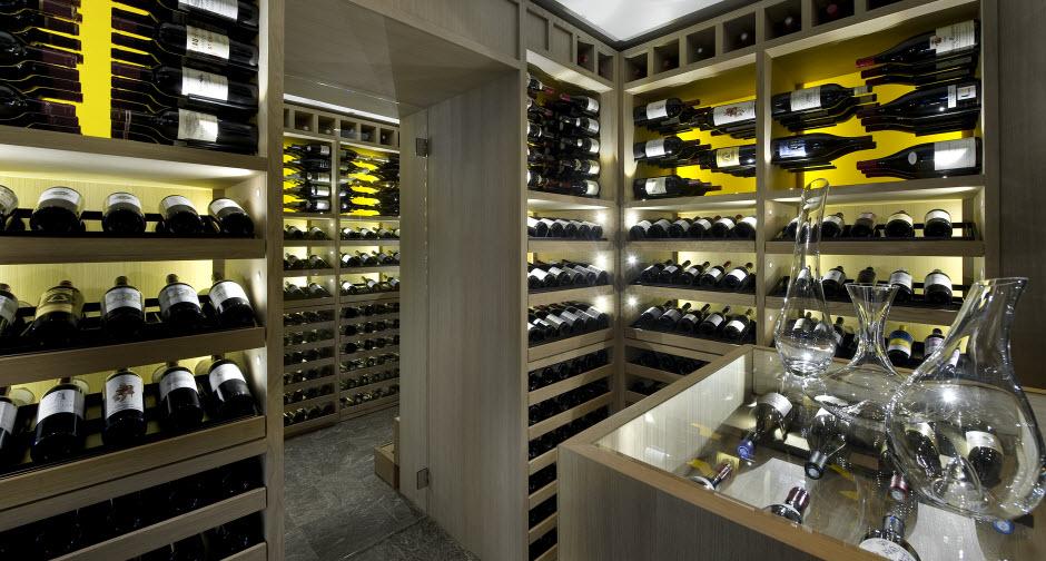 cave a vin sur mesure chene naturel courchevel k2 2. Black Bedroom Furniture Sets. Home Design Ideas